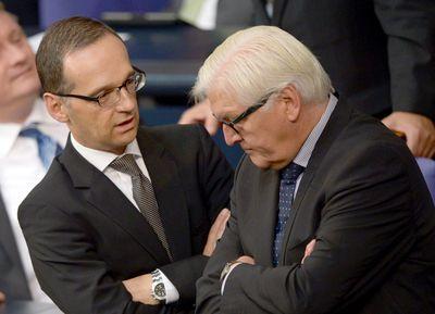 Bild: Heiko Maas und Frank-Walter Steinmeier