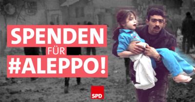 Symbolfoto: Spenden für Aleppo