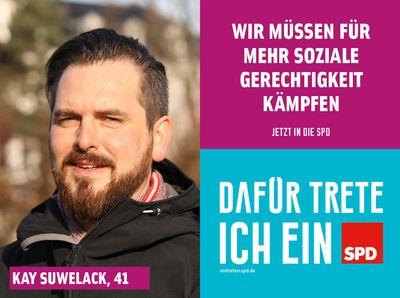 Symbolfoto: Jetzt in die SPD eintreten mit Neumitglied Kay Suwelack