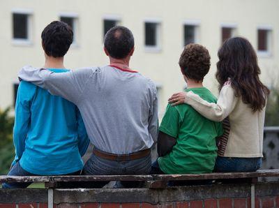 Foto: Flüchtlingsfamilie aus Syrien