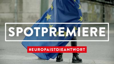 Foto: Premiere des Spots zur Europawahl