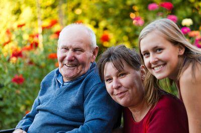 Foto: 3 Generationen einer Familie