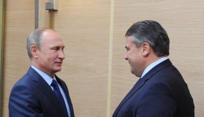 Vizekanzler Sigmar Gabriel ist nach Moskau gereist, um mit dem russischen Präsidenten Wladimir Putin nach politischen Lösungen zur Beendigung des Bürgerkriegs in Syrien zu suchen. (Foto: dpa)