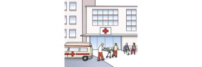 Bild zeigt Kranken-Haus