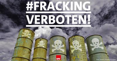 Symbolfoto: Fracking verboten