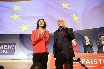 Foto: Katarina Barley und Udo Bullmann