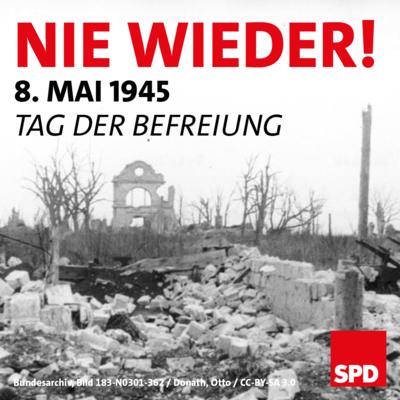Symbolfoto 8. Mai 1945: Nie wieder! Tag der Befreiung