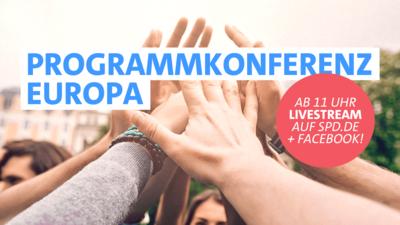 Symbolfoto: Programmkonferenz Europa
