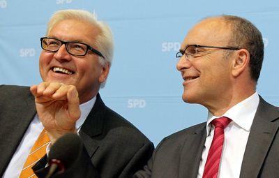 Foto: Frank-Walter Steinmeier und Erwin Sellering (Archivfoto)