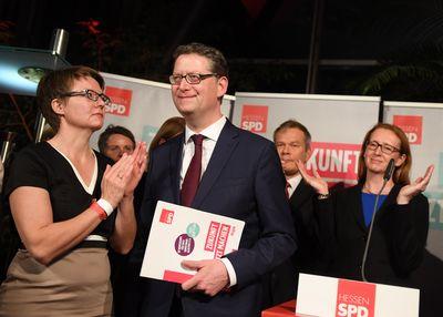 Foto: Thorsten Schäfer-Gümbel am Wahlabend
