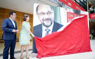 Foto: Hubertus Heil stellt die Kampagne zur Bundestagswahl vor