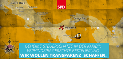 Grafik: Panama Papers - Wir wollen Transparenz schaffen.