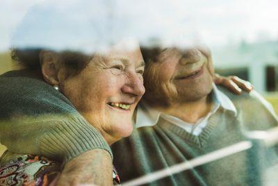 Bild: Glückliche Senioren