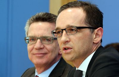 Foto: Heiko Maas (r) und Thomas de Maizière