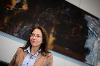 Yasmin Fahimi im Willy-Brandt-Haus. (Foto: dpa)