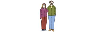 Bild zeigt Frau und Mann