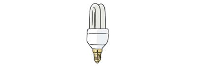 Bild zeigt Strom-Spar-Lampe