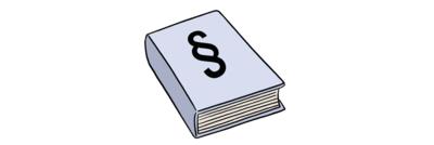 Bild zeigt Gesetz-Buch